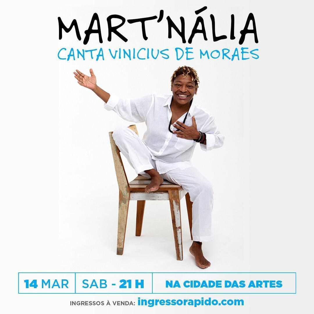 Mart'nália | Cidade das Artes
